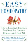 Easy Homeopathy by Edward Shalts, M.D., D.Ht. with Stephanie Gunning. Click to order from Amazon.com.
